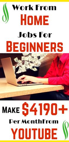 Wanna earn money from home. Work from jobs for beginners. Earn Thousands of dollars