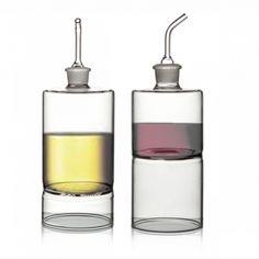 Aria oil and vinegar cruets