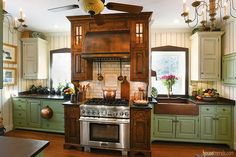 1000 Images About Anything But White Or Black Cabinets On