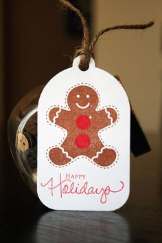 Sunny with a chance of crafting: Christmas Tags