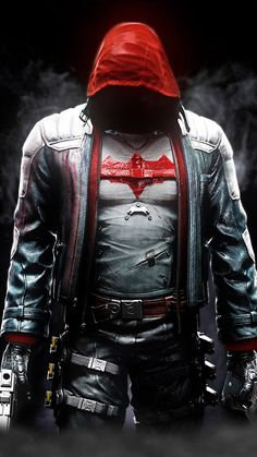 RED HOOD ARKHAM KNIGHT by JPGraphic on @DeviantArt