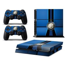 FC INTERNAZIONALE Playstation 4 PS4 Skin Decal Sticker Cover Playstation 4 Custom Made