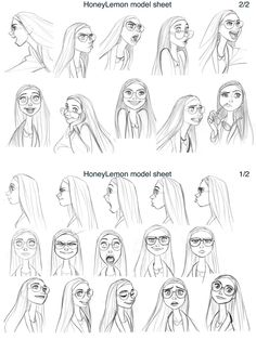 De Jin Kim para Big Hero 6: Baymax e Honey Lemon | THECAB - The Concept Art Blog