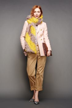 30 Little Style Lessons To Learn From J.Crew #refinery29 Cuff your khakis so they show off a healthy length of ankle.