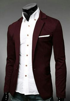 Shop our best value Burgundy Suit Jacket on AliExpress. Check out more Burgundy Suit Jacket items in Men's Clothing, Women's Clothing, Weddings & Events, Home & Garden! And don't miss out on limited deals on Burgundy Suit Jacket! Mens Casual Suits, Casual Blazer, Mens Suits, Men Blazer, Suit Men, Burgundy Suit, Red Suit, Frack, Paris Mode