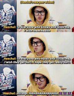 Omg Heechul ( this is Heechul from Suju but I'm putting it on my NCT board anyways )