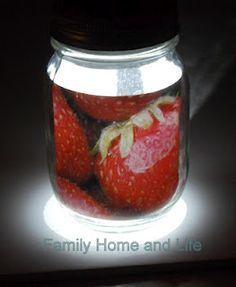 Do it yourself mason jar solar light