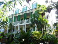 Key West Audubon House, one of the prettiest and oldest historic houses in Key West.