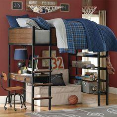 Ryder Loft Bed from Picsity.com #bed #beddingroom #furniture #home #design