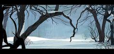 Art by Thorhauge : winter
