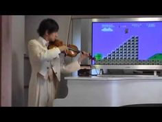Violin Super Mario!!!!! Credit goes to the original Composer his channel is here:  https://www.youtube.com/user/teppeikunviolin