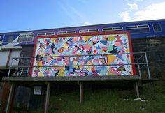 MINA HAMADA http://www.widewalls.ch/artist/mina-hamada/ #urban #street #art