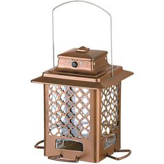 Improvements Moroccan Metal Hopper Bird Feeder