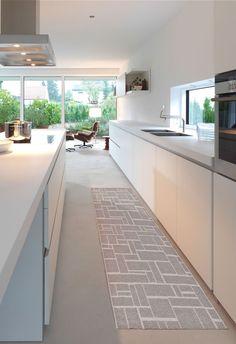 Tappeto cucina Mod.Dama http://www.puntoarredo.info/prodotti/tappeti/tappeti-bagno-e-cucina/