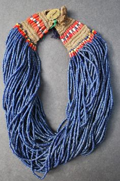 Naga Jewellery ~ tiny beads