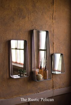Mirror - Decorative Mirrors- Free Shipping - The Rustic Pelican