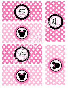 Sweet Minnie Party Collection Printable by sweetpeachpaperie, $5.00