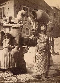 Italian Vintage Photographs ~photo by Wilhelm von Gloeden