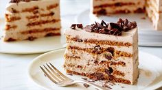 Mocha Chocolate Icebox Cake Recipe : Ina Garten : Food Network