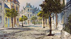 vintagegal:Paris in Disney's The Aristocats (1970)