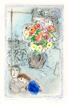 Marc Chagall, The Buttercups, 1973