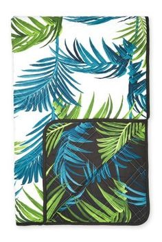 Buy Reversible Palm Leaf Throw online today at Next: Israel