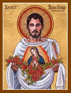 St. Juan Diego icon by Theophilia on DeviantArt