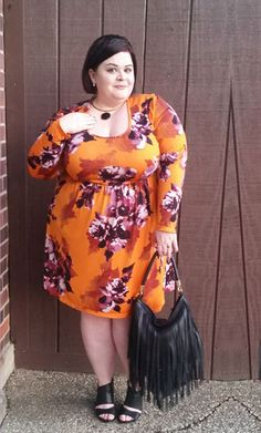 Gwynnie Bee member in the Spruce & Sage Fitzgerald Floral Dress Plus Size Stores, Plus Size Beauty, Karen Kane, Looking For Women, Plus Size Dresses, Sage, Fashion Forward, Dress Skirt, Looks Great