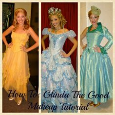 WICKED'S Glinda The Good Halloween Makeup Tutorial