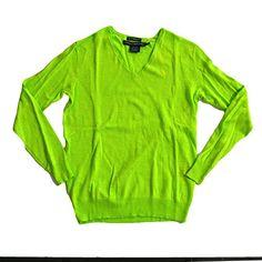 Polo Ralph Lauren Womens Boyfriend Fit VNeck Sweater Mthon Green  XLarge * For more information, visit image link.