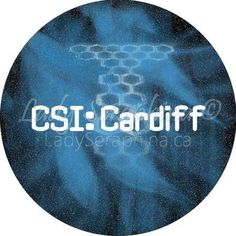"""From the episode, """"Everything Changes,"""" while describing what it is that they do at the Torchwood Institute, this conversation occurred:   """"CSI Cardiff, I'd like to see that, they'd be measuring the velocity of a kebab.""""    How could I resist designing a button to go with that!"""