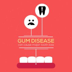 UNTREATED GUM DISEASE can permanently affect your entire mouth. Don't wait to take care of it! And, please don't hesitate to ask us any questions you may have about gum disease. We are checking all of our patients for this at every cleaning visit! #parkridgedentist #gumdisease