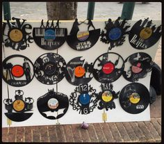 "Another amazing find this time on the streets of Bogota Columbia! We just love ""Look what I found"" moments  People in every corner of this amazing world are creative and make beautiful crafts and artisans. With carrywithyou.com these things are now reachable and can be shared! These old records turned into wall decorations are brilliant. What a perfect nostalgic memory for anyone who grew up playing their favourite music from records. Join us to discover explore and get interesting items…"