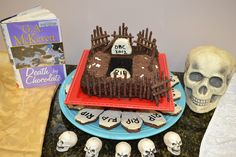 """Death by Chocolate,"" an entry in the Edible Books Contest #edible #books"