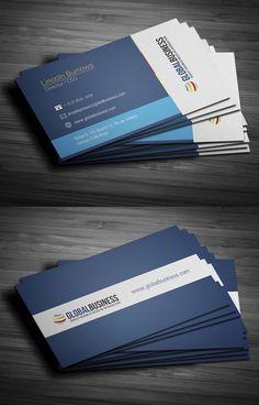 Modern Stylish Business Cards Design4