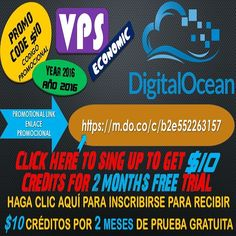 #Click here http://ift.tt/2eGJXHc  To sing up to get $10 #credit for 2 #months  #free ...HAGA #CLICK #AQUI PARA INSCRIBIRSE Y RECIBIRÁ $10 EN #CREDITO POR 2 MESES DE #PRUEBA #GRATIS #vps  #digitalocean #servidor #web #laravel #deploy #programacion #programming #php #bootstrap #css #java #javascript #html #html5 #linux #windows #computer #computadora