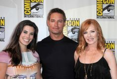 Josh Holloway Meghan Ory Marg Helgenberger Intelligence. #tv #geek #cbs #intelligence #sandiegocomiccon #JoshHolloway #MeghanOry #MargHelgenberger