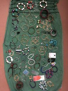 Huge Joblot Costume Jewelry Almost Kgs Earrings Bracelets Bangles Brooch Bangle Bracelets, Bangles, Costume Jewelry, Brooch, Costumes, Jewellery, Earrings, Ebay, Bracelets