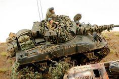 Sherman Firefly with German Armor car KO'ed - Dioramas - Modeling Subjects - Finescale Modeler Community