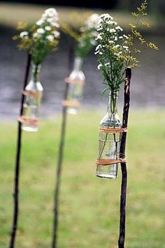 Wedding Details: Rustic Flowers Salvage Savvy: Weekly [P]inspiration: Outdoor Entertaining DIY Ideas The post Wedding Details: Rustic Flowers appeared first on Diy Flowers. Diy Wedding, Rustic Wedding, Wedding Flowers, Dream Wedding, Wedding Backyard, Wedding Ceremony, Trendy Wedding, Wedding Blog, Farm Wedding