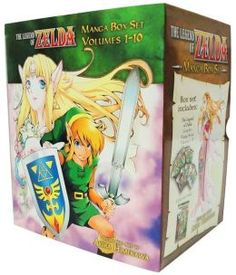 The Legend of Zelda Manga Box Set $40.44 at Barnes & Noble includes all 10 books and a poster.
