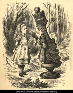 """Lewis Carroll's Through the Looking-Glass. The Red Queen said, """"It takes all the running you can do, to keep in the same place."""" (Red Queen Principle, evolution)"""