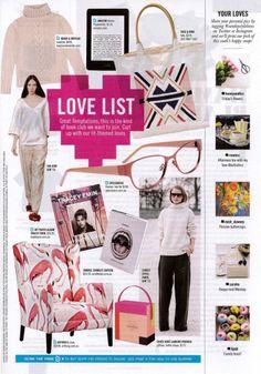 Design in Print│ The Sunday Herald Sun Sunday Style October 2013 Love List featuring the Arthur G Benson Chair