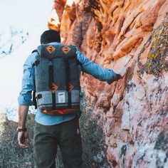 The Klettersack by Topo Designs and Woolrich.