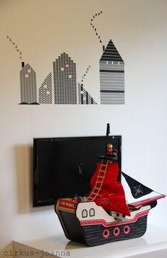 Dekortapaszos faldekoráció ♥ ♥ ♥ Dekorella Shop http://dekorellashop.hu/ DIY - wall sticker/washi masking tape