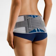 The SacroLoc® orthosis can provide the correct support for sacroiliac joint syndrome (SI joint syndrome) and pain. It stabilizes and relieves pressure on the pelvis and symphysis and, with its two-part visco-elastic cushion (pad), massages the sacroiliac joints. This stimulates circulation, thus hel