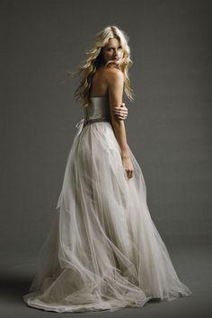 johanna johnson a line wedding dress