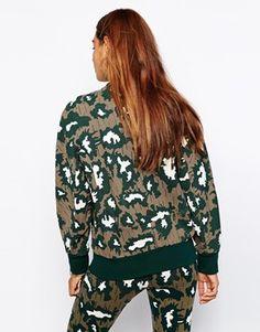 Enlarge Adidas Originals Camo Bomber Jacket