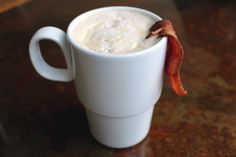 Maple Bacon Latte at