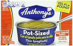 Anthony's Pot Sized Pasta, Thin Spaghetti, 16 Ounce (Pack of 16) >>> Read more reviews of the product by visiting the link on the image.